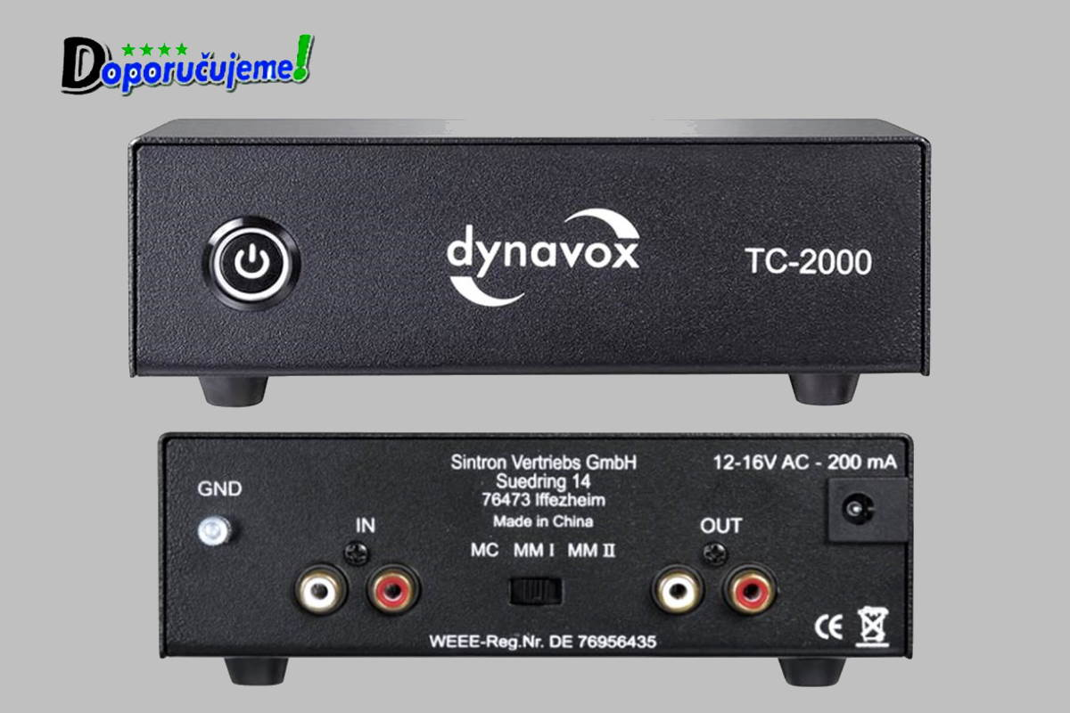 Phono predzosilovač Dynavox TC-2000