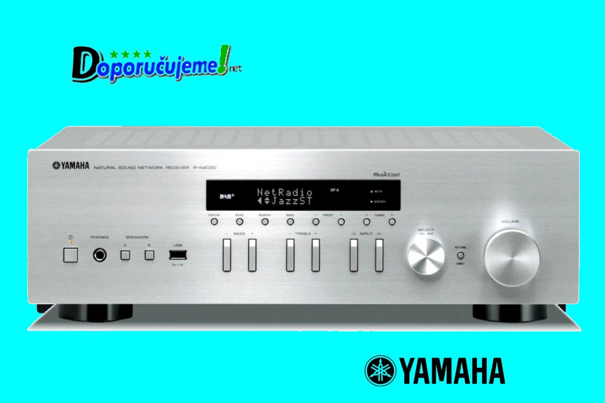 Stereo prijímač Yamaha R-N402D