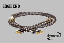 "RCA kábel Dynavox ""Black Line""-1,5m"