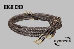 "Repro kábel  Dynavox ""Black Line""-2,0m"