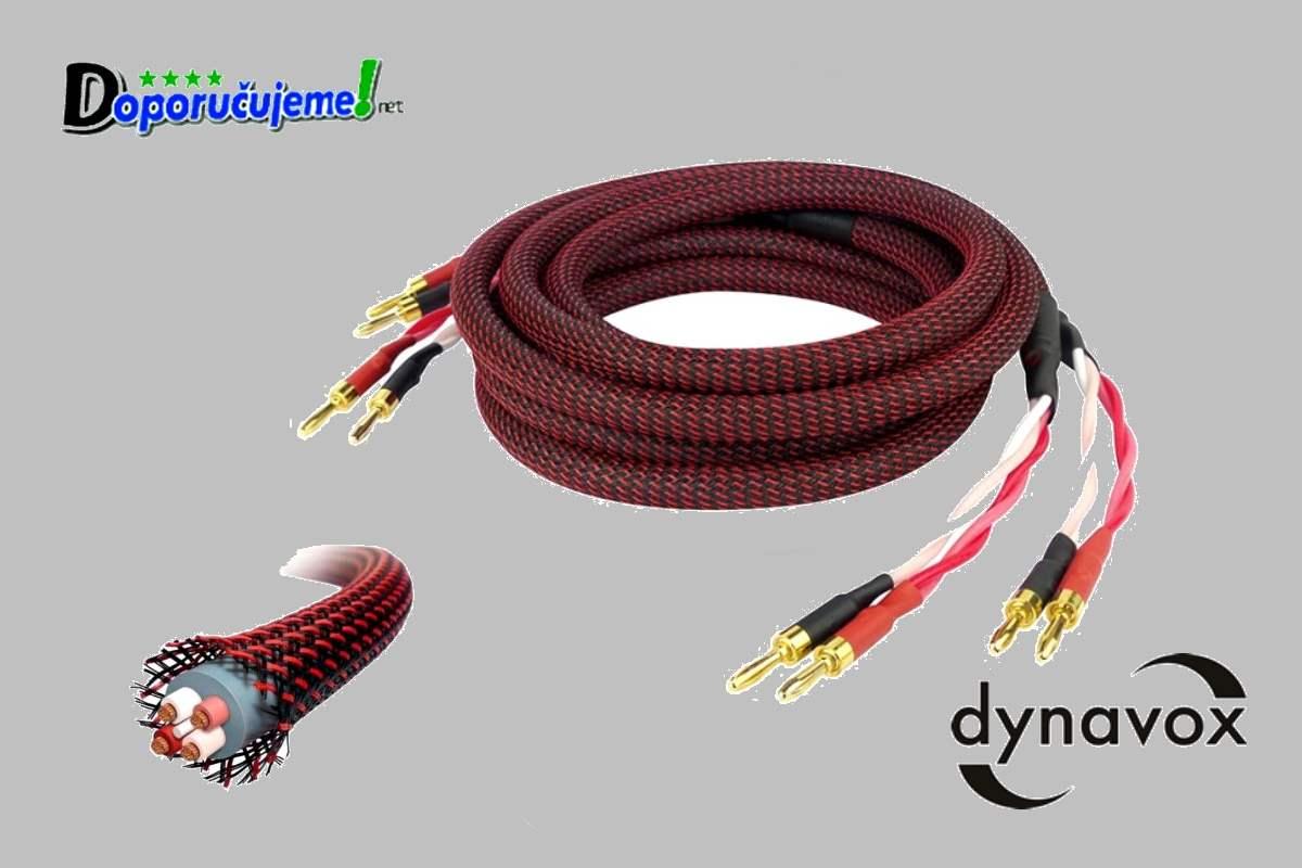 "Repro kábel  Dynavox ""Rot Line""-2,0m"