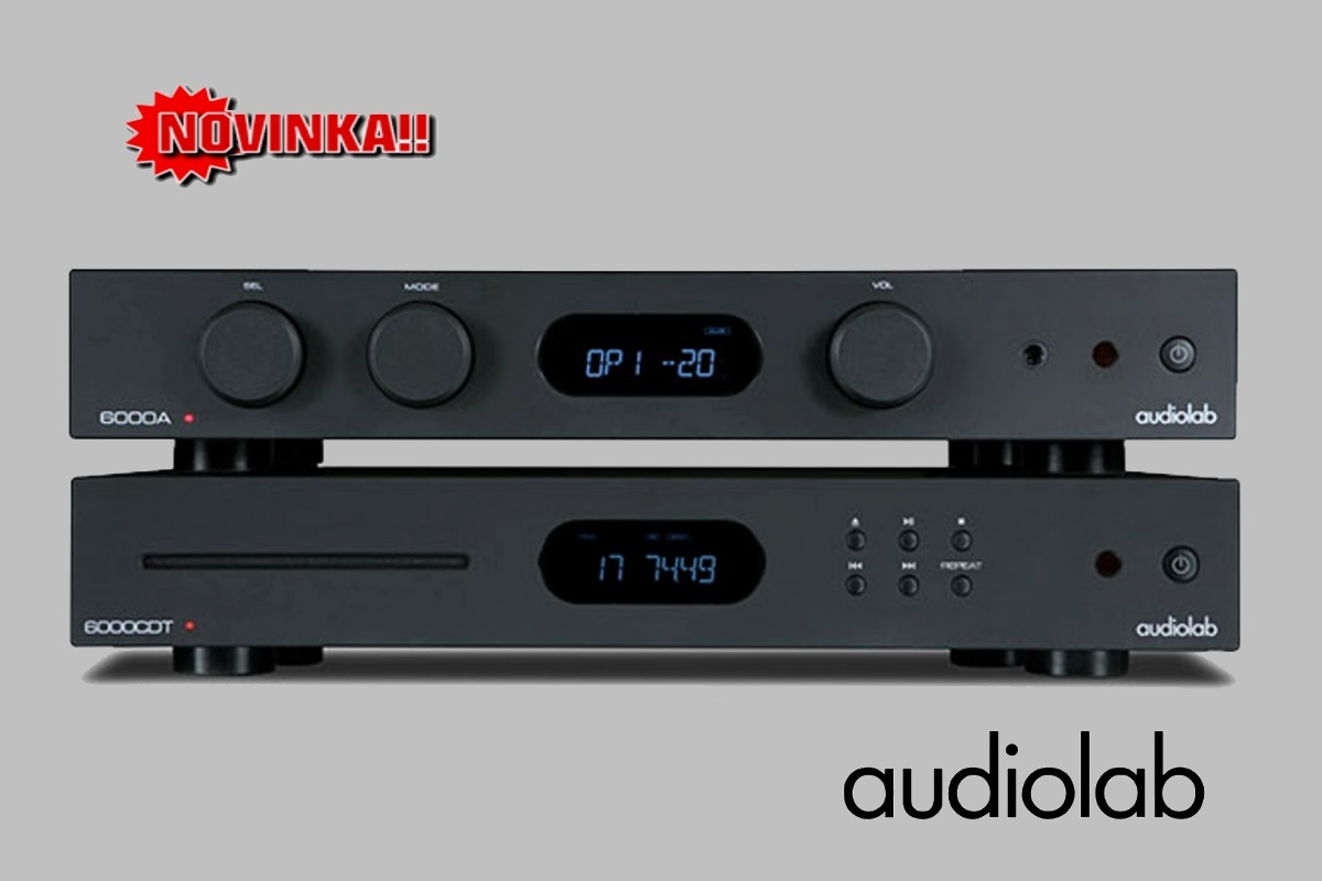 Zostava Audiolab 6000A+6000CDT