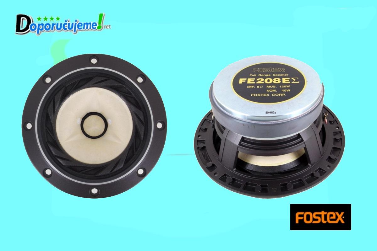 Výškový reproduktor Fostex FE208 EZ
